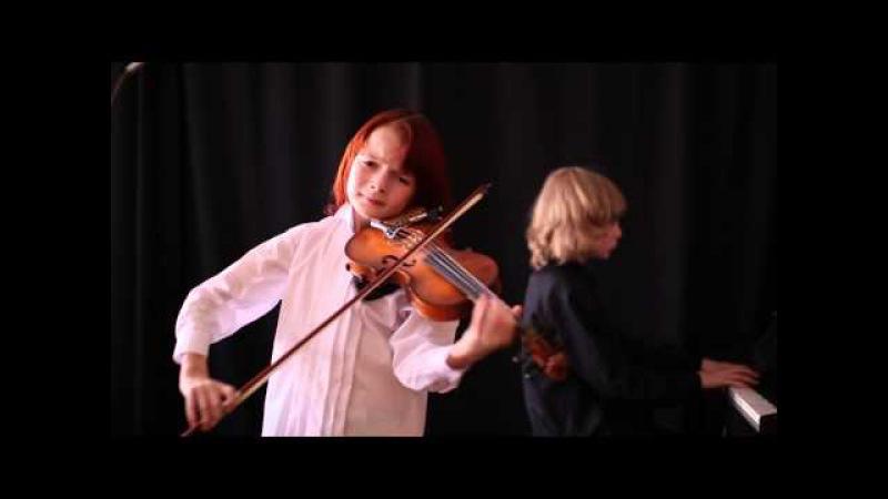 Шпор концерт № 2 (1 часть) Данила Бессонов (9 лет 4 мес)