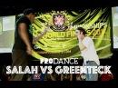 SALAH vs GREENTECK UK B Boy Championships 2014 Popping Semi Final