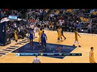 Philadelphia 76ers vs Indiana Pacers | Full Highlights | March 1, 2015 | NBA Season 2014/15