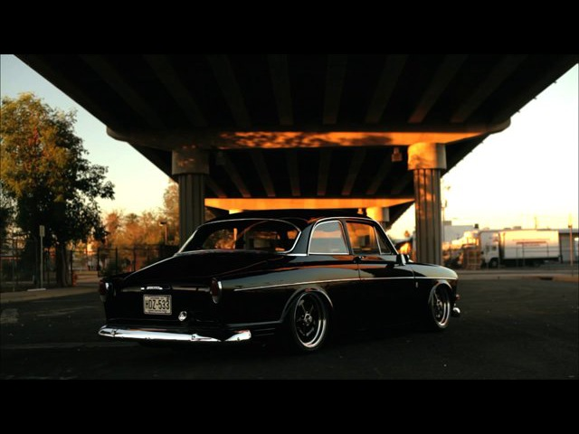 Swedishmetal Better with Age- Keith Ross 1966 Volvo Amazon