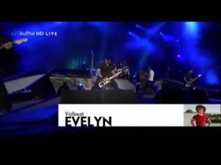 Volbeat Evelyn live @ Wacken 2012