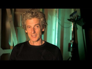 Peter on working with Maisie - The Girl Who Died - Doctor Who Series 9