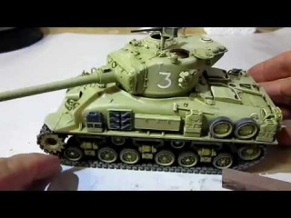 Building Tamiya M51 Sherman Tank. Complete From Start to Finish