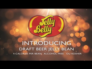 Draft beer jelly belly jelly beans debut - worlds first beer flavor jelly beans!