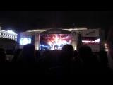отрывок песни Дыхание, исполняет группа ЮПитер и Вячеслав Бутусов концерт 19.09.2015