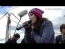Lena Meyer-Landrut — Satellite (boat trip in Oslo)