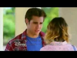 Виолетта и Леон разговаривают о своих чувствах. ( 3 сезон 65 серия ) - YouTube240p