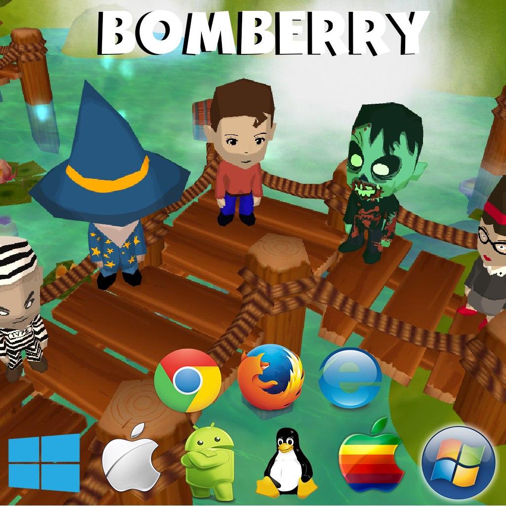 Bomberry - кроссплатформенный экшен в духе bomberman с элементами MOBA - Изображение 1