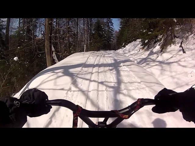Wierch Spalone, Dolina Olszowego - SkiBike kwiecień 2013