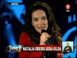 Natalia Oreiro в 2015 г.сыграет знаменитую певицу Джильду.10.09.2014 г.