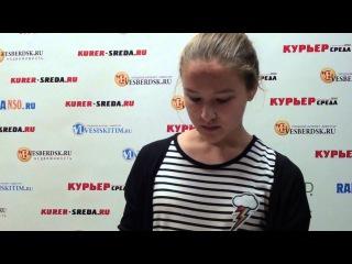 Ирина Антонова читает стих Есенина