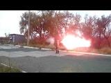 Пишет Александр Петрович Никонов: Ополченцы - настоящие дегенераты! Развлечения ради разрушают инфраструктуру Донбасса
