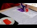 Простые мастер классы Яркая футболка роспись акриловыми красками по ткани ТАИР