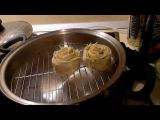 Манты с тыквой видео, манты с картошкой, приготовленные в сковороде ВОК от компании Amway