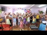 Иисус Мой Супер Герой - В ЖИВУЮ! Христианская Детская Песня! Холсон!