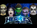 Heroes of the Storm Main Theme - Live Voices