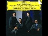 Emerson String Quartet @ WEBERN String Quartet (1905)
