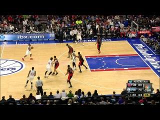 Toronto Raptors vs Philadelphia 76ers | Full Highlights | March 2, 2015 | NBA Season 2014/15