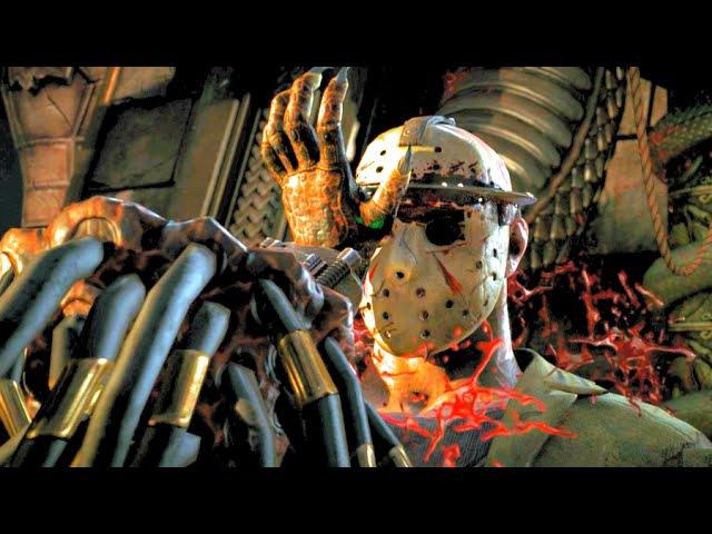 Mortal Kombat X All Predators Fatalities, Brutalities, X-Ray Ending