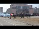 9 мая показательное выступление роты охраны г Гаджиево в|ч 77360-В