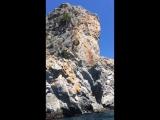 Гурзуф(скала Шаляпина, высота прыжка 19 метров)