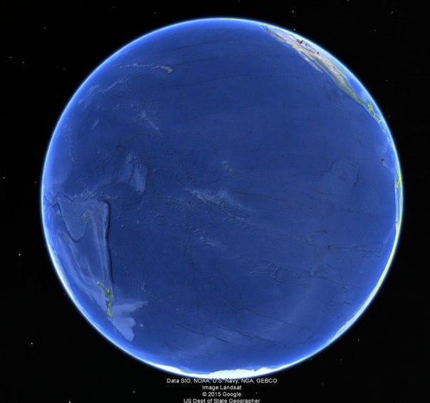 Так выглядит Земля, если