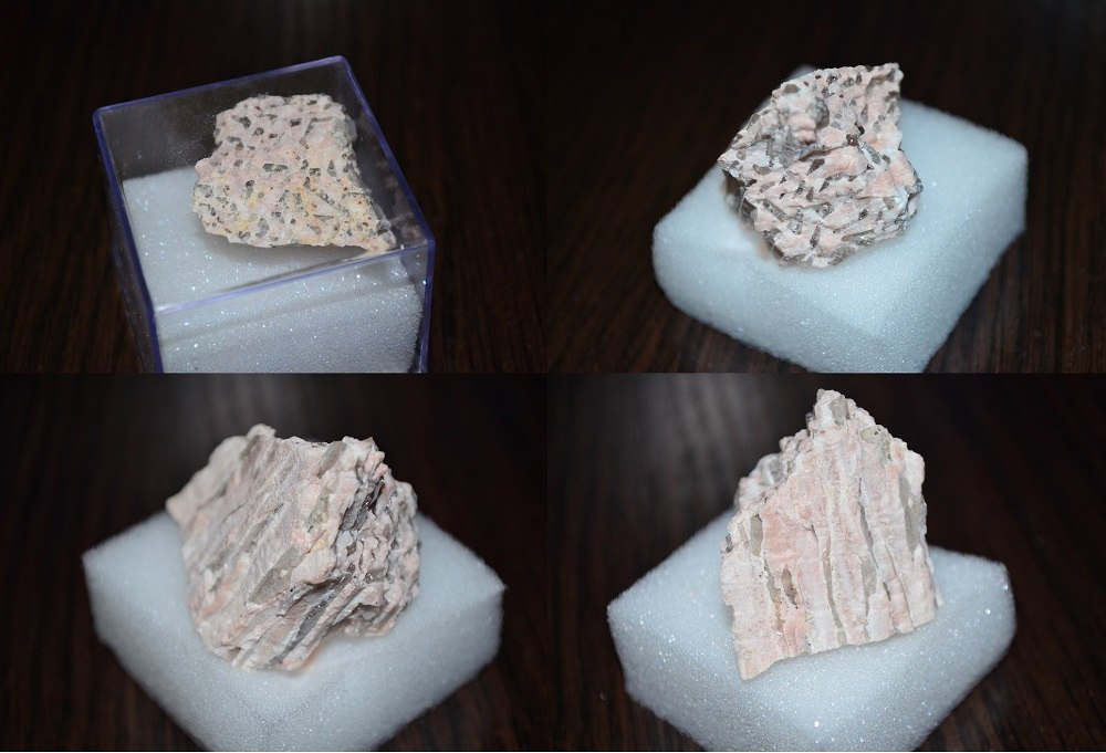 Минералы Сокровища Земли №75 - Пегматит
