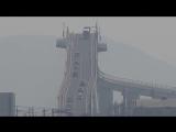 Cамый крутой мост в Японии, напоминающий американскую горку