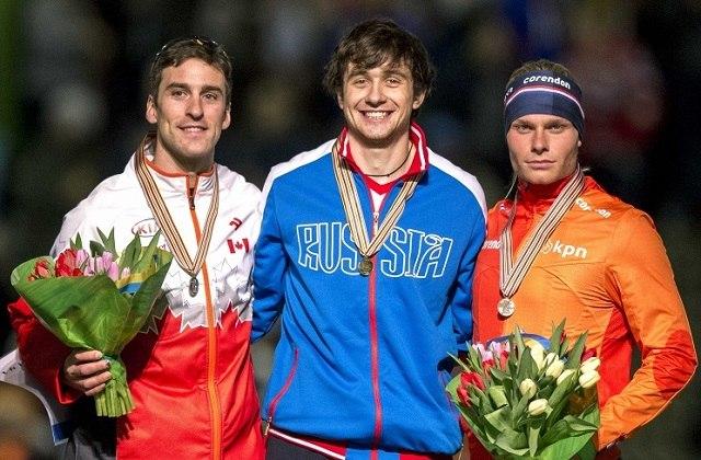 Денис Юсков и призёры