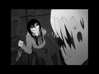 Слендер - мен против Джеффа Убийцы. Jeff The Killer vs Slender man. (КРИПИПАСТА - Creepypasta)