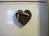 Как сделать магнитик из кофейных зерен  Мастер класс