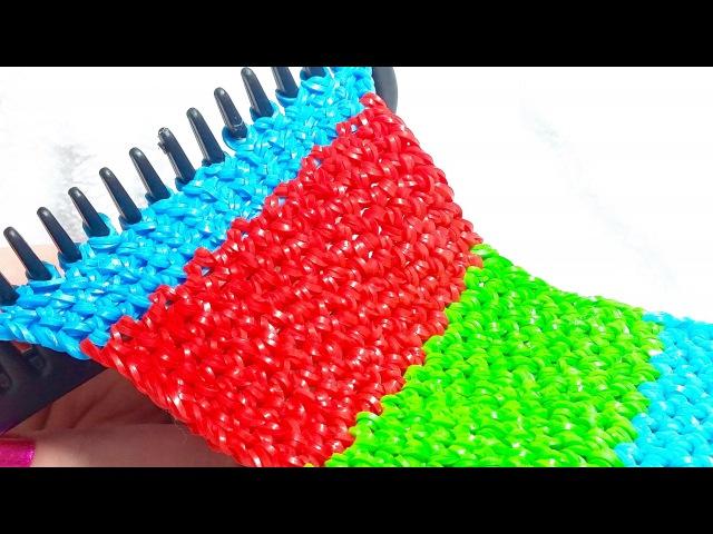 3д плетение из резиночек видео
