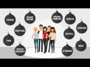 Видео инфографика о здоровом образе жизни