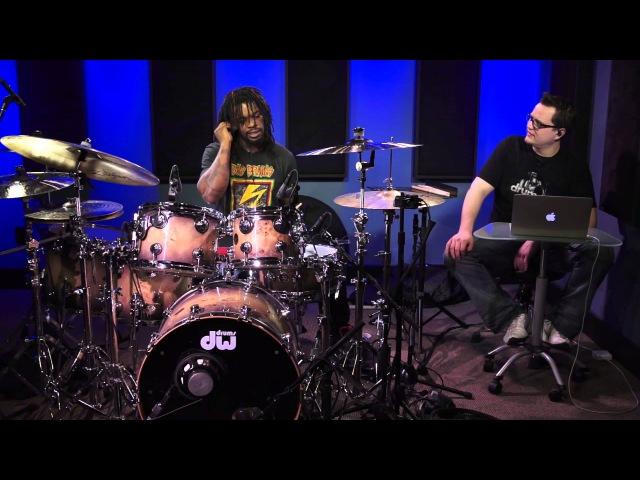 Thomas Pridgen - Applying Rudiments To The Drum-Set (FULL DRUM LESSON)