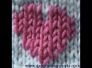 Вышивка по трикотажу Duplicate Stitch