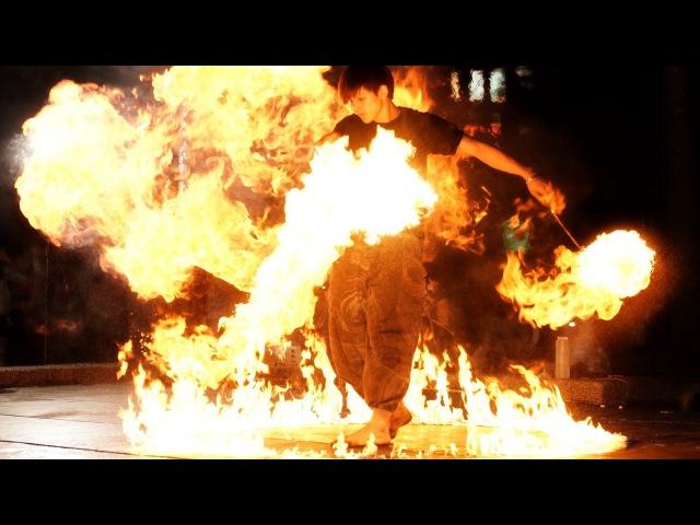 Scream火舞團 2014-10-18 好強 Music:Explosive - Bond