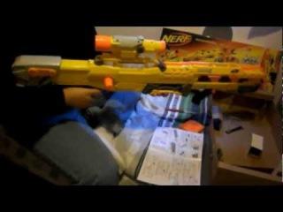 Nerf Longshot CS-6 Box Opening and Test fire