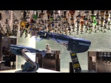 Bionic Bar! Robotic Bartenders Mix Drinks on Quantum of the Seas - Royal Caribbean