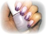 Простой дизайн ногтей // Нежный и женственный маникюр с блестками