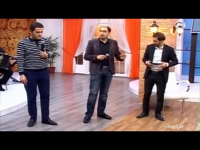 Agaev Production -Şirin çay - 03.05.2015 (Pərviz Bülbülə, Vüqar Biləcəri, Orxan Lökbatan, Ataş)