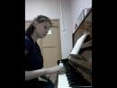 W A Mozart Piano Sonata No 11 in A Major fragment Tatiana Ilgen