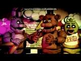 «Со стены 5 НОЧЕЙ С МИШКОЙ ФРЕДИ» под музыку Five nights at Freddys 1 2 3 4 5 - Песня пять ночей с мишкой Фредди 2. Picrolla