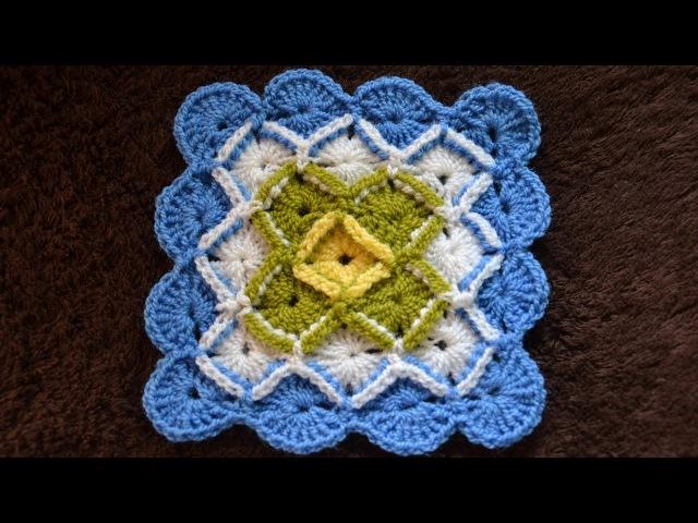 ♥ Баварское вязание крючком • Bavarian Crochet Stitch • Пошаговый мастер класс •