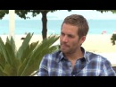 PAUL WALKER On his (FIRST) car and how he is more careful doing stunts - Fast Five (2011)