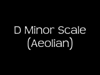D Minor Scale (Aeolian) - Groovy Backing Track! (Free mp3!)