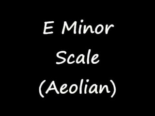 E Minor Scale (Aeolian) - Groovy Backing Track for Improvisation! (Free mp3!)