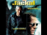 The jackal end title soundtrack by Carter Burwell and Massive attack.