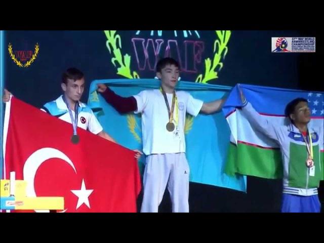 37 - чемпионат мира по армрестлингу. Басаров Ораз - Долмез Мехмед