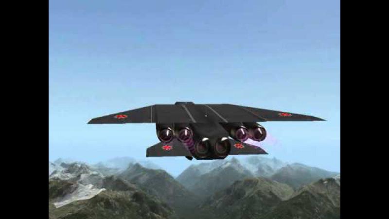 Российский ВКС СиР-240ГТА Черная Вдова - Russian SiR 240GTA NATO Black Widow