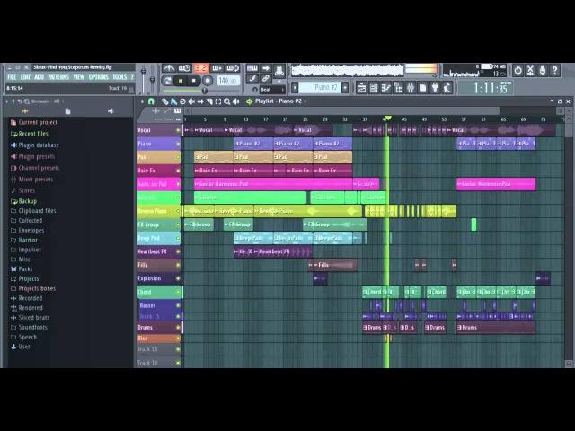 Skrux-Find You(Sceptrum Remix)(Preview)(Melodic Dubstep FLP)